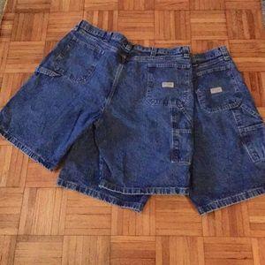 Wrangler Shorts Mens 2 pr